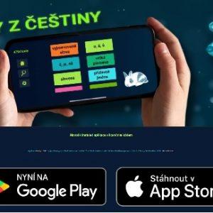 Mobilní aplikace TESTY Z ČEŠTINY pro žáky III. třídy až VIII. třídy
